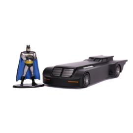 Batman - Batmobile fém autómodell figurával - Animated Series (253213004)