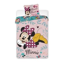 Minnie Mouse ágyneműhuzat szett - Virágok