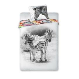 Wild zebrás ágyneműhuzat szett