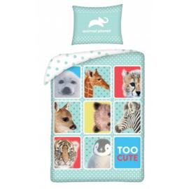 Animal Planet - Too cute ágyneműhuzat szett