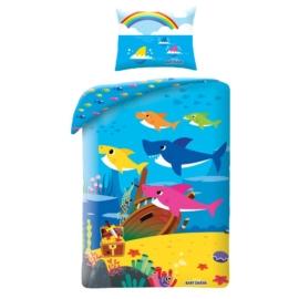 Baby Shark Ágyneműhuzat szett - Kék