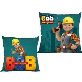 Bob, a mester kétoldalas párnahuzat 40 x 40 cm-es