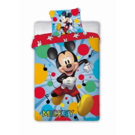 Mickey Mouse ágyneműhuzat szett - Pöttyös