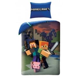Minecraft Ágyneműhuzat szett (MNC-020BL)