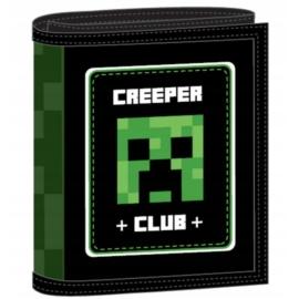 Minecraft pénztárca - Creeper Club