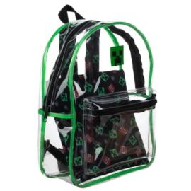 Minecraft átlátszó hátizsák - TNT Creeper