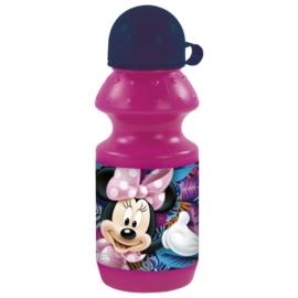 Minnie Mouse műanyag kulacs kupakkal - Spring Palms (BKMM22)