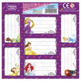 Disney Princess 7 db-os füzetcímke (NNZKS)