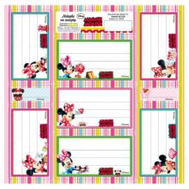 Minnie Mouse 7 db-os füzetcímke (NNZMM)