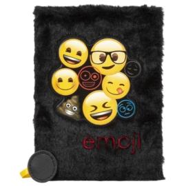 Emoji plüss napló - A/5 - 80 lapos