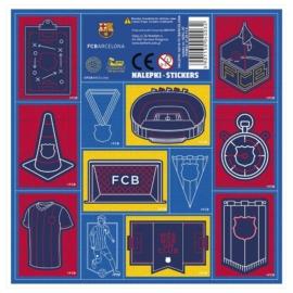 FC Barcelona matrica 16 x 16 cm (NZBC)