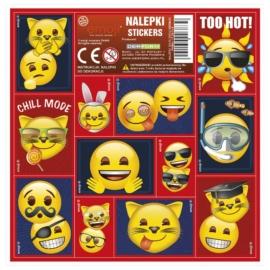 Emoji matrica 16 x 16 cm (NZEM)