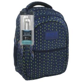 BackUp iskolatáska, hátizsák - 4 rekeszes - Kaktuszok (PLB1B7)