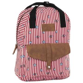 BackUp iskolatáska, hátizsák - 1 rekeszes - Legyek (PLB2CA26)