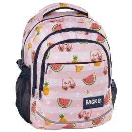 BackUp iskolatáska, hátizsák - 3 rekeszes - Summer (PLB2G69)