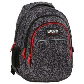 BackUp iskolatáska, hátizsák - 3 rekeszes - Elefántbőr (PLB2H38)