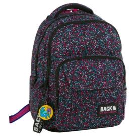 BackUp iskolatáska, hátizsák - 3 rekeszes - Konfetti (PLB2L01)