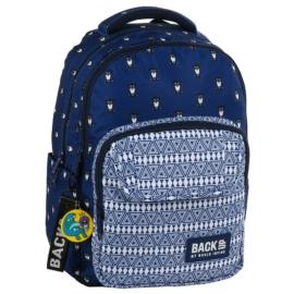 BackUp iskolatáska, hátizsák - 3 rekeszes - Baglyok (PLB2L13)