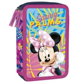 Minnie Mouse felszerelt emeletes tolltartó - Spring Palms (PWDMM22)