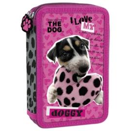The Dog felszerelt emeletes tolltartó (PWDTD33)