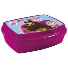 Mása és a medve műanyag uzsonnás doboz (SMN13)