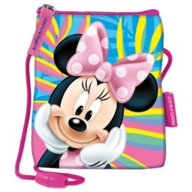 Minnie Mouse nyakba akasztható pénztárca, mobiltartó - Spring Palms (SSMM22)