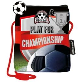 Football nyakba akasztható pénztárca, mobiltartó - Championship (SSPI13)