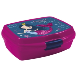 Hableány műanyag uzsonnás doboz - Princess of the sea (SSY10)