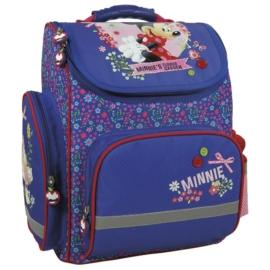 Minnie Mouse ergonomikus iskolatáska - Flower garden (TEMMM17)
