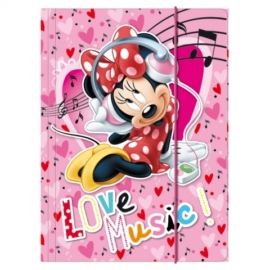 Minnie Mouse A/4 gumis mappa (TGA4MM)