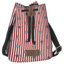 BackUp 2in1 mini vászon hátizsák - Legyek (TPCB2A26)