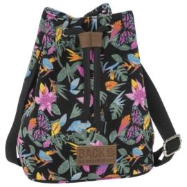 BackUp 2in1 mini vászon hátizsák - Lepkék (TPCB2A36)