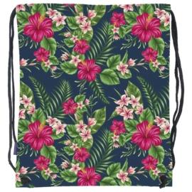 BackUp tornazsák - Trópusi virágok (WOB1A12)