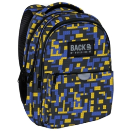 BackUp hátizsák - 3 rekeszes - Blocks
