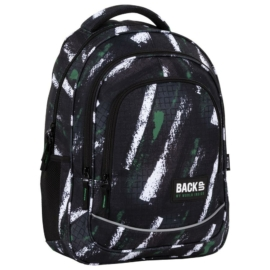 BackUp iskolatáska, hátizsák - 3 rekeszes - Grid