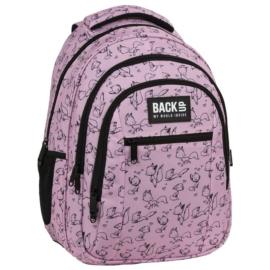 BackUp iskolatáska, hátizsák - 3 rekeszes - Fox Love