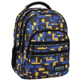 BackUp iskolatáska, hátizsák - 4 rekeszes - Blocks