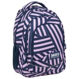 BackUp iskolatáska, hátizsák - 3 rekeszes - Strip