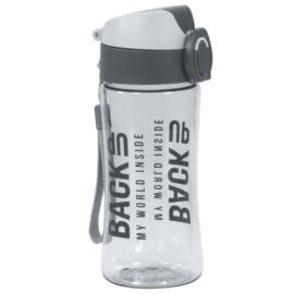 BackUp műanyag kulacs - Szürke (BB4A)