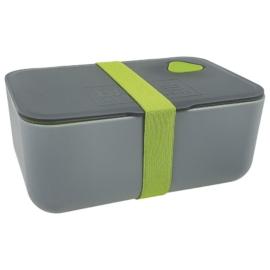 BackUp műanyag uzsonnás doboz - Szürke