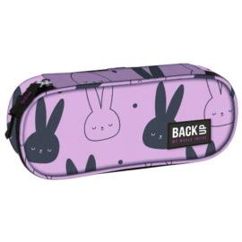 BackUp Nyuszis ovális tolltartó - Pink