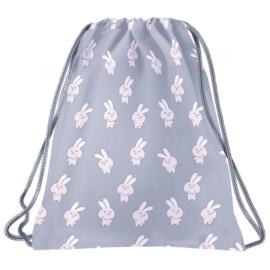 BackUp Nyuszis tornazsák - Pink nyuszik