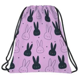 BackUp Nyuszis tornazsák - Pink
