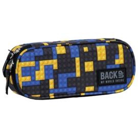 BackUp ovális tolltartó - Blocks