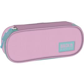 BackUp ovális tolltartó - Pasztell rózsaszín