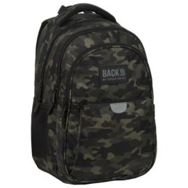 BackUp terepmintás hátizsák - 3 rekeszes - Moro