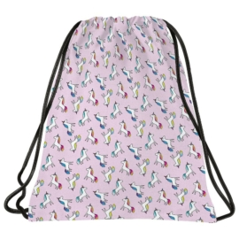 BackUp unikornisos tornazsák - Pastel Pink