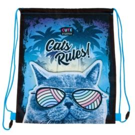 Cicás tornazsák - Cats Rules