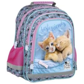 Cleo és Frank cicás iskolatáska, hátizsák - Best friends