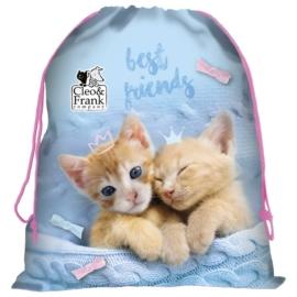 Cleo és Frank cicás tornazsák - Best friends